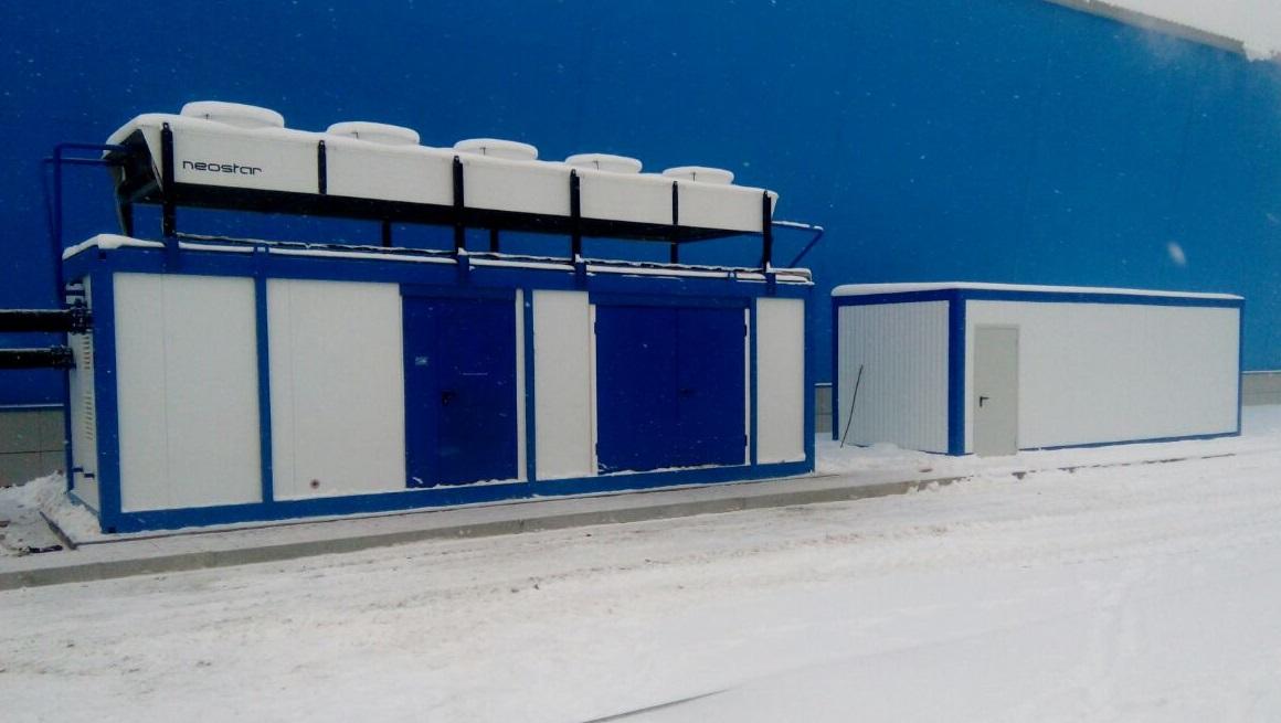 Хоккейный корт в Излучинске (ХМАО)